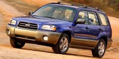 2004 Subaru Forester X (White)