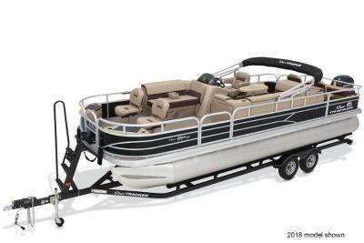 2019 Sun Tracker Fishin' Barge 24 DLX Pontoons Boats Gaylord, MI