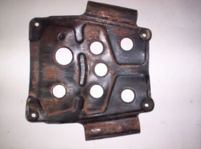 Buy 00 Kawasaki Bayou 220 Skid Plate 9976 motorcycle in Farmersburg, Indiana, United States, for US $15.00