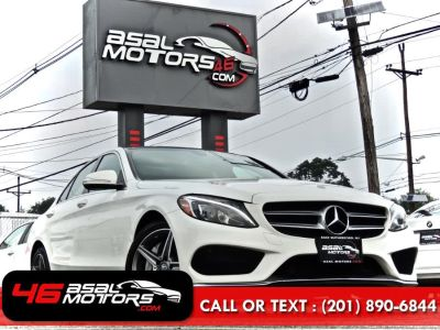 2015 Mercedes-Benz C-Class 4dr Sdn C 300 Sport 4MATIC AMG (Diamond White Metallic)