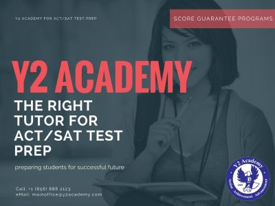 Looking for best ACT/SAT Test Prep Courses in NJ? Join Y2 Academy