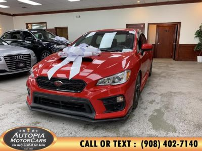 2018 Subaru WRX Manual (Pure Red)