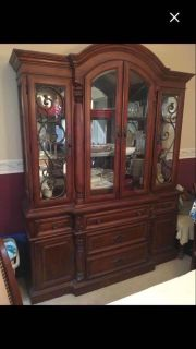 Beautiful China Cabinet with Hutch