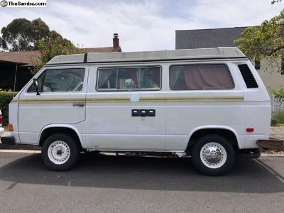 1982 VW Air-cooled Vanagon Westfalia Camper Van