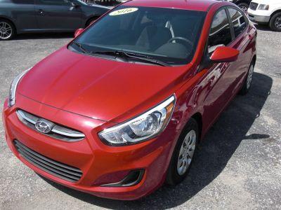 2016 Hyundai Accent SE (Red)