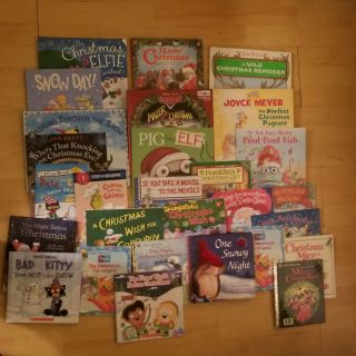 27 Christmas/Winter Books being sold as 1 lot