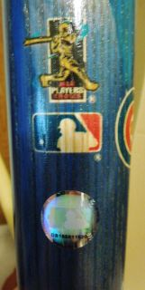 "Collectors Chicago Cubs ""Ace of Cubs"" Baseball Bat 2003"