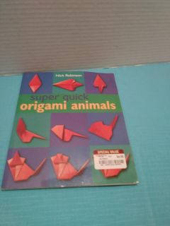 Origami Animals book softcover