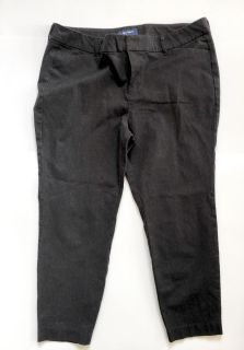Womens Old Navy Cropped Gray Pants - Sz 16