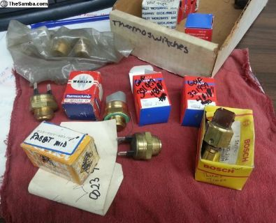 NOS Rabbit / Mk 1 Thermo / fan switches