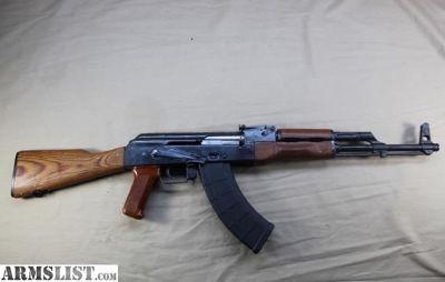 For Sale: New Nice Matching Polish Radom AKM 7.62x39mm Rifle Early 1966 PMKM blue+wood FB barrel AK AK47 Tantal