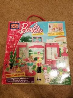 BNIB: Barbie Mega Bloks Pet Shop