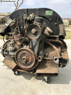 April 1959 Complete 36HP Engine