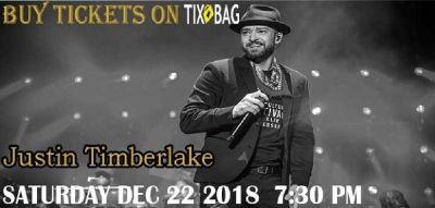 Buy Justin Timberlake Tickets on Tixbag, Dec 22 12 2018, Uncasville, CT