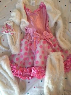 Bunny costume size 7/8