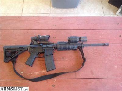For Sale: Colt M4 AR15 with Trijicon acog Surefire