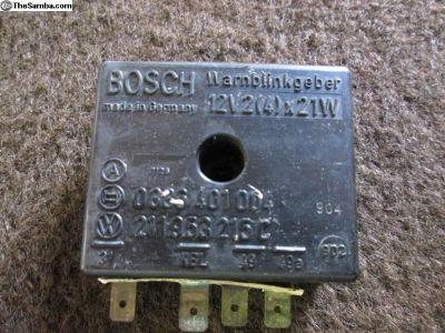 Original Bosch Flasher Box, 12V 211953215C