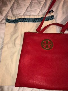 Pretty Tory Burch Inspired Purse and Dust Cover