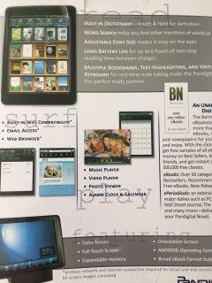 New 7 E-Reader Tablet in Box -Multimedia