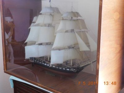 USS Constiution Ship Model