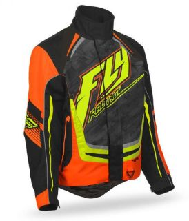 Find FLY Racing SNX High Performance 2016 Mens Snowmobile Jacket Black/Orange motorcycle in Holland, Michigan, United States, for US $197.96
