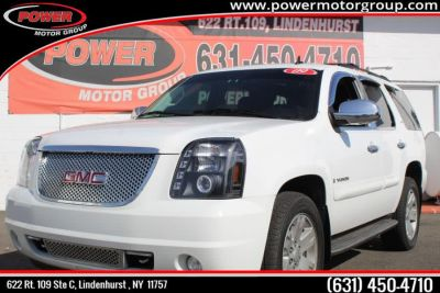 2009 GMC Yukon SLT (Summit White)