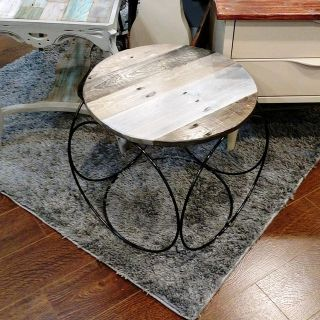 Little Round Side Table