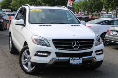2014 Mercedes-Benz M-Class ML350 4MATIC (White)