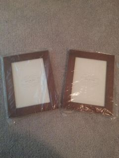 Brand NEW brown 5X7 picture frames