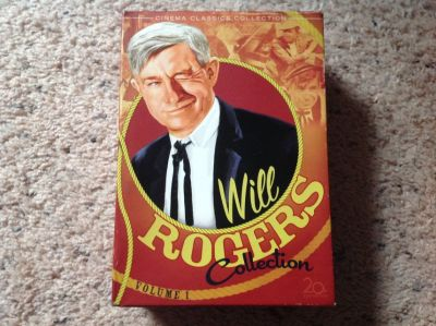 Will Rodgers DvD collection