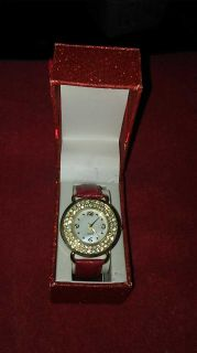 Beautiful red band watch new in box