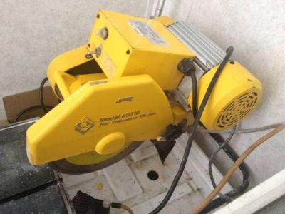 commercial tile wet saw