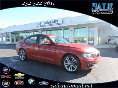 2016 BMW 3-Series 328i (Melbourne Red Metallic)