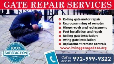 Rolling Gate Repair Service| Automatic Gate Repair Irving, TX