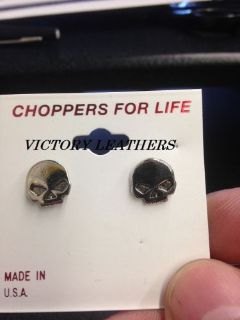 Buy USA MADE WILLIE G HALF SKULL EARINGS BIKER EARINGS motorcycle in Palatine, Illinois, United States, for US $10.00