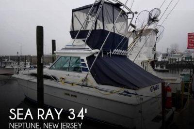 1988 Sea Ray 340 Sedan Bridge