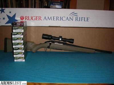 For Sale: Ruger American Ranch Rifle 300 Blk