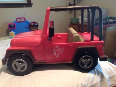 Jeep for 18 inch dolls