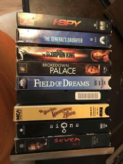 30 vhs tapes