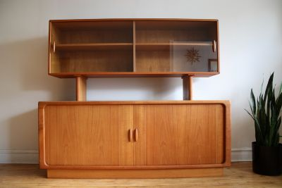 Midcentury Danish Teak Floating Shelf by Dylund