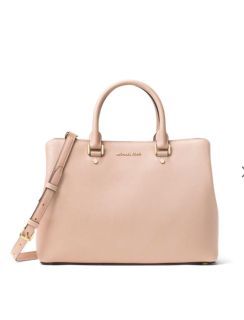 Michael Kors NWT very pale pink Leather Bag