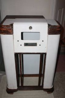 Vintage Radio Cabinet Shell Furniture Project