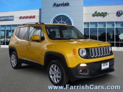 2017 Jeep Renegade Latitude (Solar Yellow)