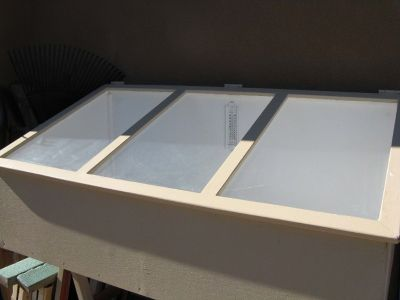 Cold Frame For Starting Seeds