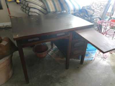 Beautiful antique desk- more pics in comments
