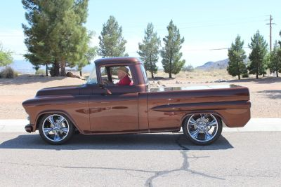 1956 chey pickup rare fleet side