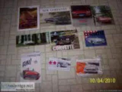 Corvette orig Sales Brochure