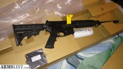For Sale: Brand New Bushmaster xm15 qrc
