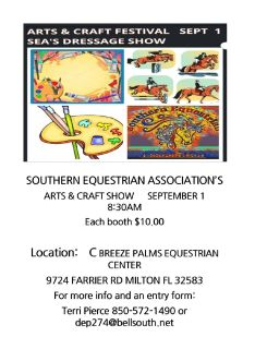 Arts & Crafts Festival & Dressage Show